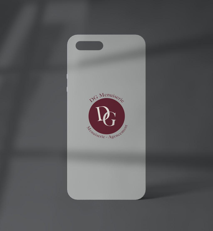 Iphone Mockup DG Menuiserie